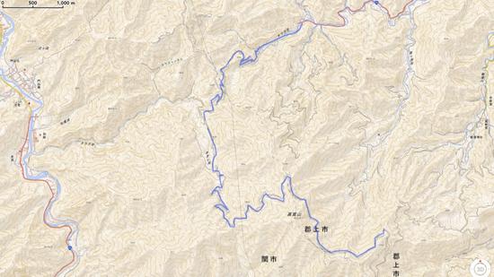 H30.04.22 中美濃林道 ログ