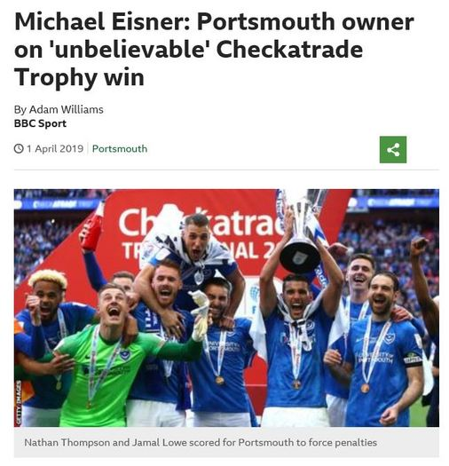 portsmouth win